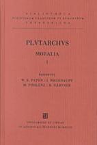 Plutarchi Moralia Vol. I (Bibliotheca…