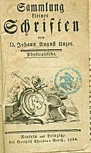 Sammlung kleinerer Schriften: Physicalische…