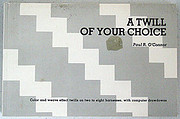 A Twill of Your Choice by Paul R. O'Connor