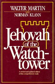 Jehovah of the Watchtower av Walter Ralston…