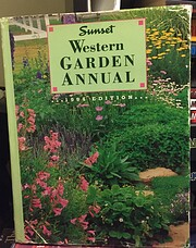 Western Garden Annual 1994 de Sunset Books