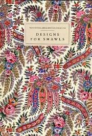 Designs for shawls av George Haité