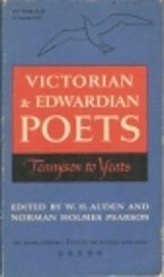 Portable Poets of the English Language,…