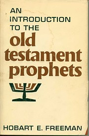 Introduction to the Old Testament Prophets…