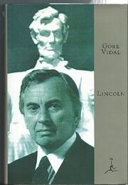 Lincoln af Gore Vidal