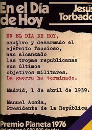 En el dia de hoy: Novela (Autores espanoles…