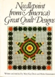 Needlepoint from America's great quilt…