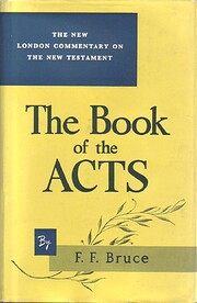 Commentary on the Book of the Acts : the…