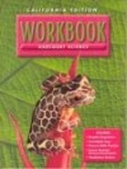 Science Workbook: California Edition/ Grade…