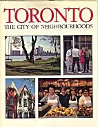 Toronto, the City of Neighbourhoods by…