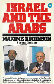 Israel and the Arabs por Maxime Rodinson