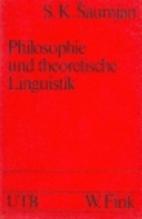 Philosophie und theoretische Linguistik by…
