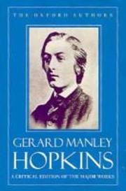 Gerard Manley Hopkins: The Major Works…