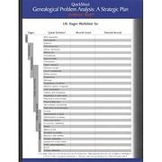 QuickSheet Genealogical Problem Analysis: A…