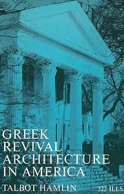 Greek Revival Architecture in America de…