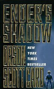 Ender's Shadow (Ender, Book 5) de Orson…
