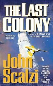 The Last Colony de John Scalzi