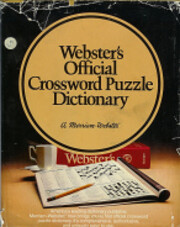 Webster's Official Crossword Puzzle…