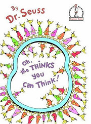 Oh, the Thinks You Can Think! af Dr. Seuss
