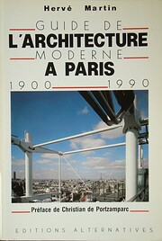 Guide de l'architecture moderne a Paris =:…