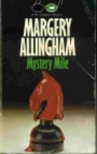Mystery Mile by Margery Allingham