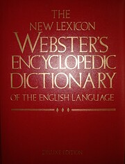 The New Lexicon Webster's Encyclopedic…