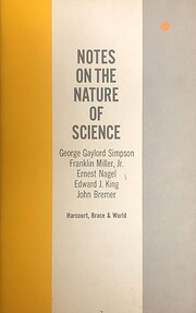 Notes on the Nature of Science, 1962, 46…