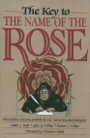 The Key to The Name of the Rose: including…