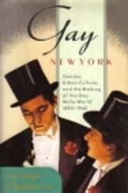 Gay New York – tekijä: George Chauncey