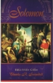 Solomon: Bible Study Guide de Charles R.…