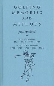 Golfing memories and Methods (Flagstick…