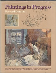 Paintings in progress af Bernard Dunstan