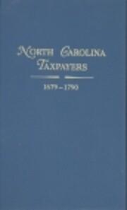 North Carolina taxpayers, 1701-1786 por…
