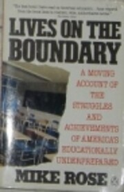 Lives on the Boundary: A Moving Account of…