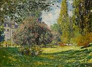 Le parc Monceau [Postcard] de Claude Monet