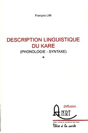 Description linguistique du Kare…