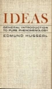 Ideas de Edmund Husserl