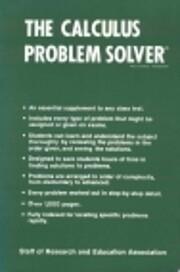 Calculus Problem Solver (Problem Solvers…