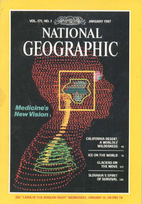 National Geographic Magazine 1987 v171 #1…