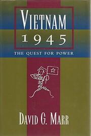 Vietnam 1945: The Quest for Power de David…