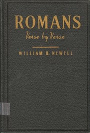 Romans: Verse-by-Verse: A Classic…