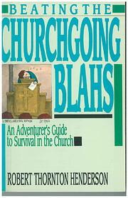 Beating the Churchgoing Blahs: Adventurers…