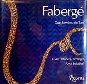 Fabergé, court jeweler to the Tsars…