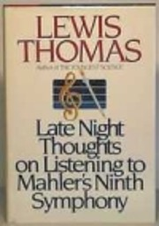 Late night thoughts on listening to Mahler's…