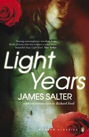 Light Years – tekijä: James Salter