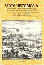 De herroeping van het Edict van Nantes…
