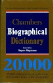Chambers Biographical Dictionary de Magnus…