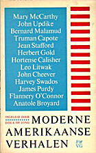 Moderne Amerikaanse verhalen by Dola De Jong