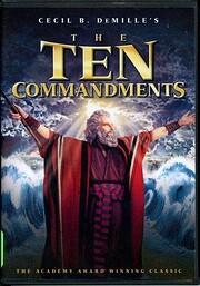 The Ten Commandments di Cecil B. DeMille