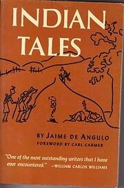 Indian Tales – tekijä: Jamie De Angulo